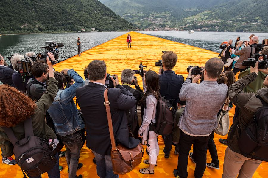 Recensie Christo: Walking on Water Cinemagazine