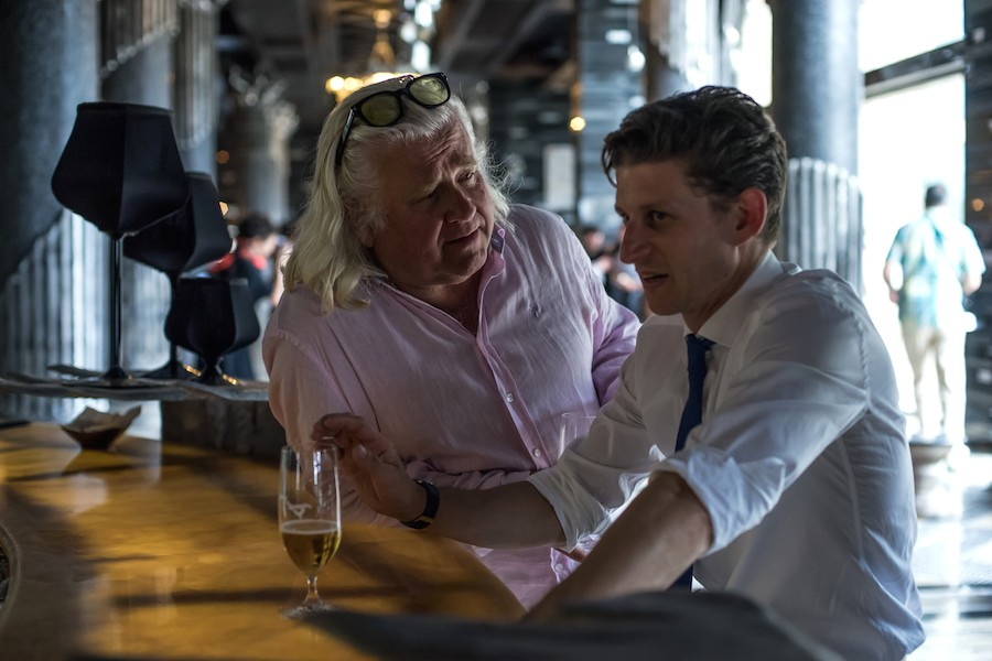 Interview Peter Brosens - King of the Belgians - Cinemagazine