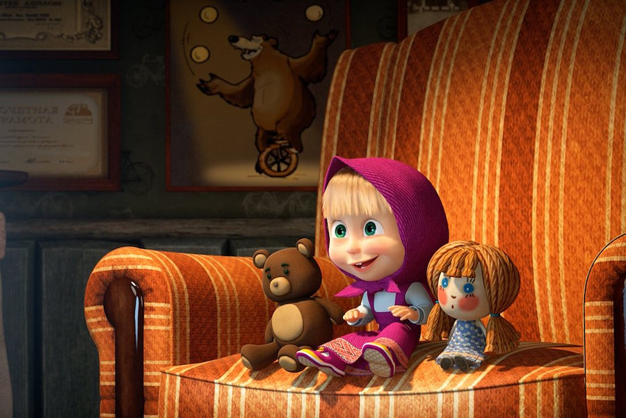 Recensie Masha en de beer naar de bioscoop Cinemagazine